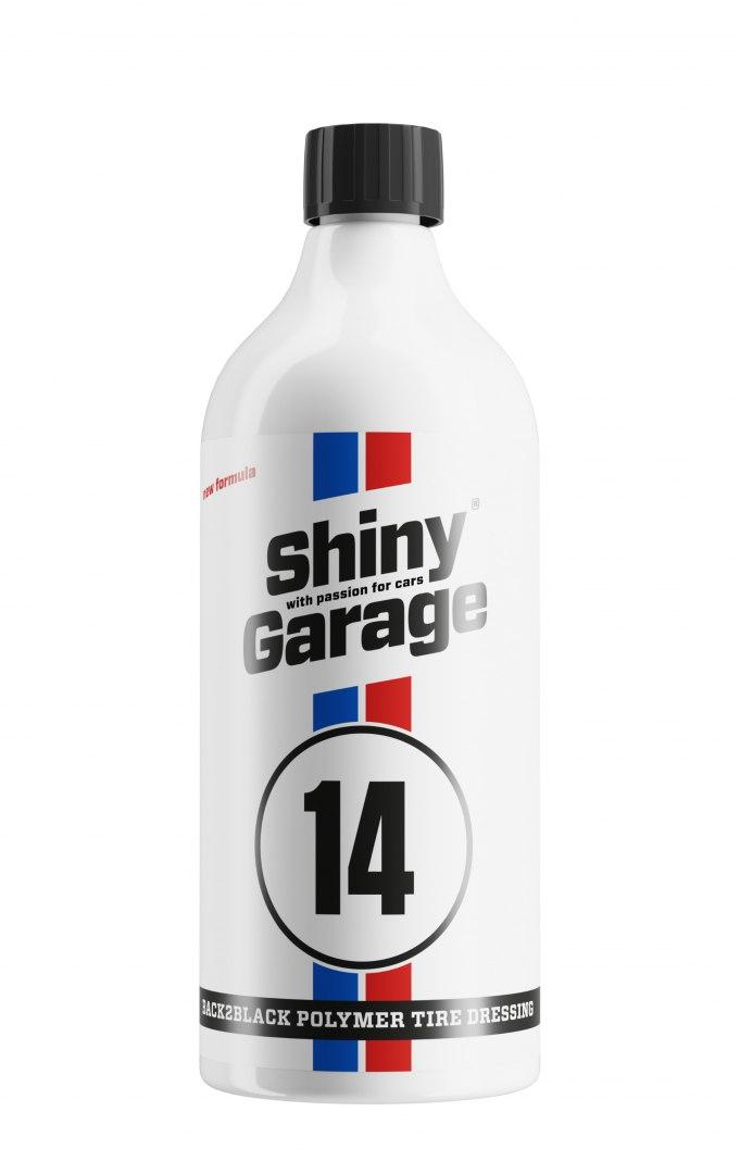 Shiny Garage Back2Black Polymer Tire Dressing 1L (Dressing do opon) - GRUBYGARAGE - Sklep Tuningowy